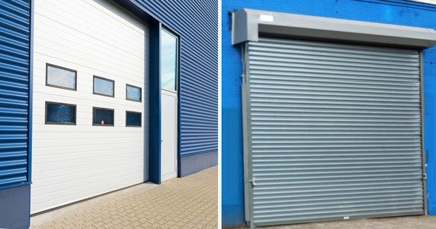 Overhead Garage Door Or Rolling Gate